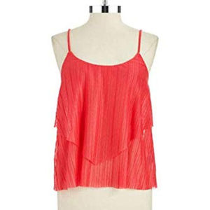 Jessica Simpson Lizbeth rouge red XL top